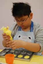 2014-01-23 馬德蓮貝殼蛋糕實作