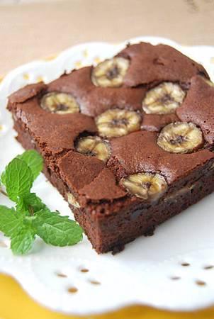 巧克力香蕉蛋糕