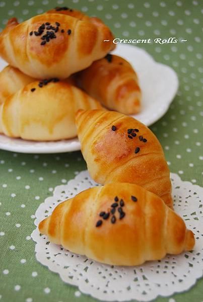 小牛角麵包