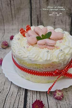 芋香(裸)蛋糕