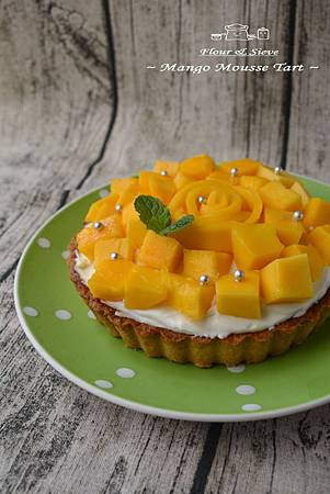 芒果乳酪慕斯塔
