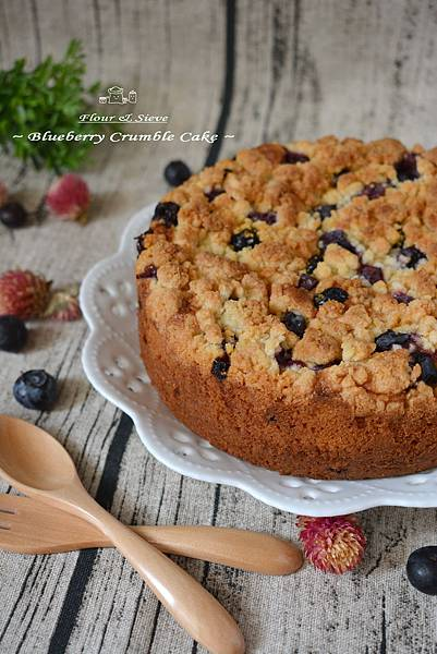 藍莓莎布蕾蛋糕