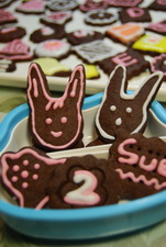 巧克力壓模餅乾~裝飾