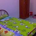 宿舍里....我的床位