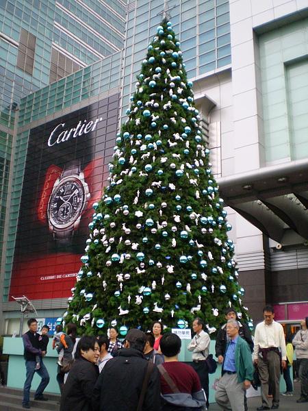 101前的聖誕樹