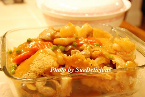 海陸双燴鍋粑