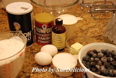 藍莓鬆煎餅