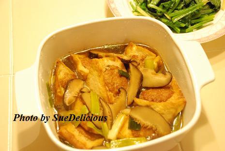 黄金釀豆腐