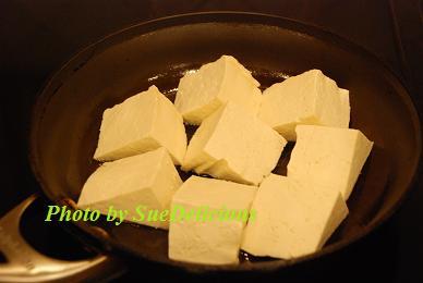 黄金鑲豆腐
