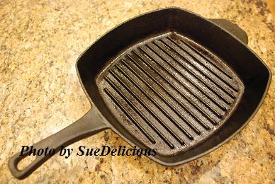cast iron grill pan 鑄鐵烤鍋