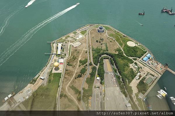 麗思卡爾頓酒店 (The Ritz-Carlton) 豪華海景房 (Harbour Island) 日景