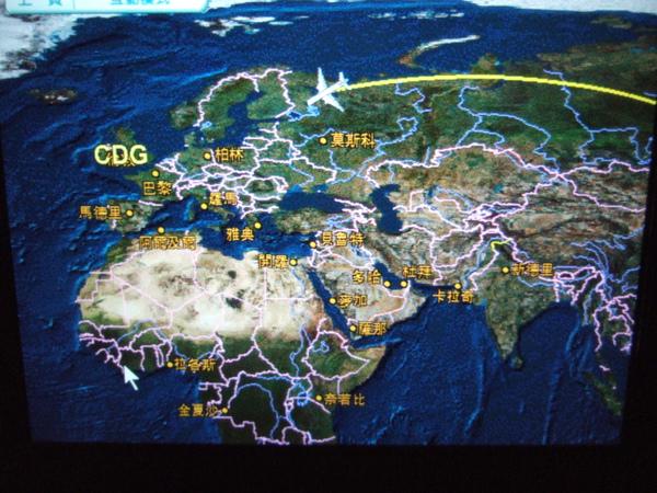 2009/10/28飛往巴黎