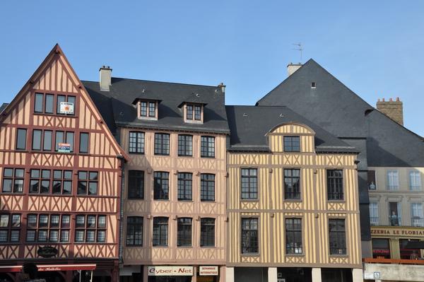 Rouen木質骨架屋