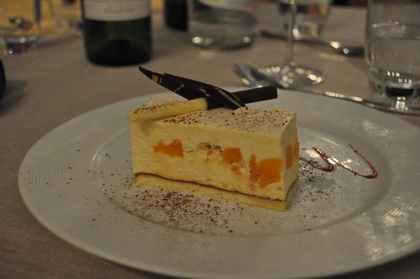 晚餐-甜點:香橙慕斯