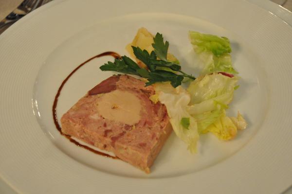 晚餐-前菜:鵝肝肉凍