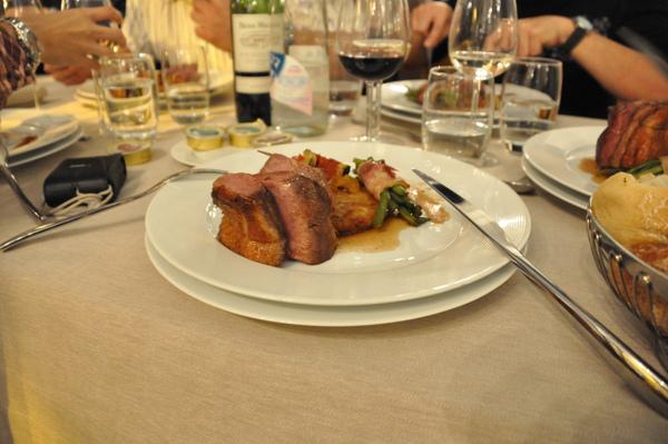 晚餐-主菜:香烤鴨肉