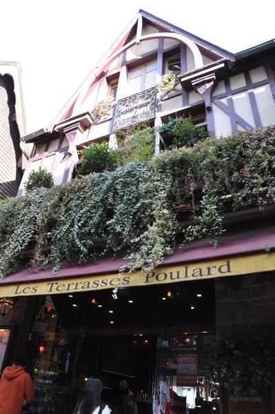 Mont-Saint-Michel-餐廳外