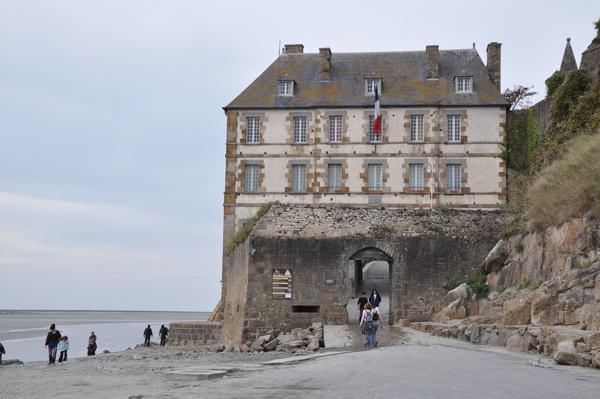 Mont St. Michel城外