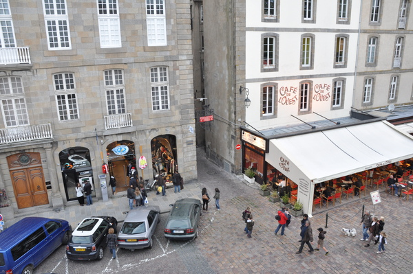 St.Malo城牆上