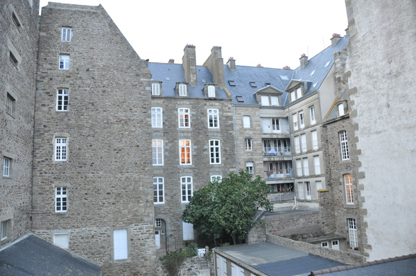 St.Malo-城牆上