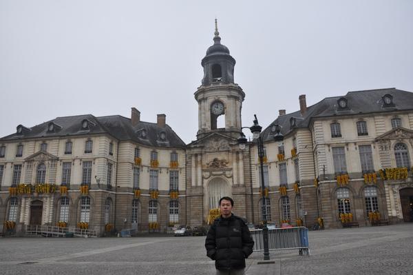 Bretagne.Rennes.市政廳