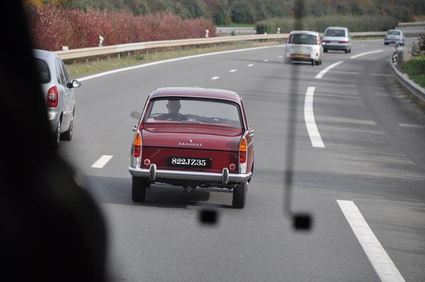 行駛於高速公路上