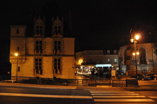 Amboise城夜晚街景