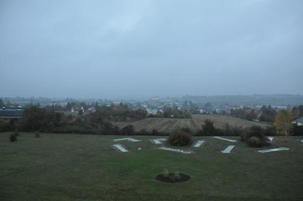 Hotel Novotel Amboise 房間窗外風景