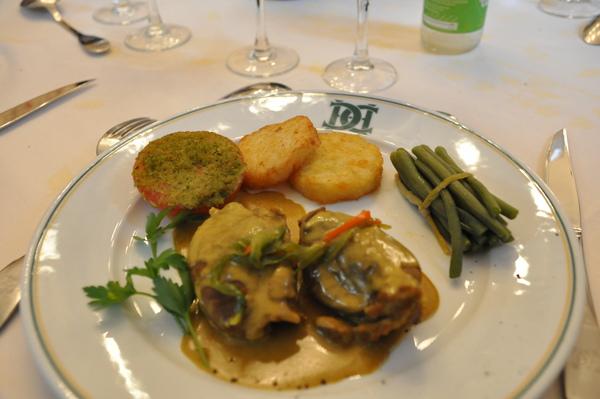 Château de Chenonceau午餐主食