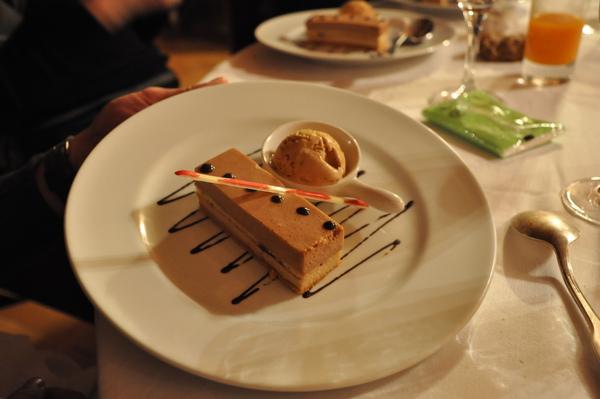Château de Chissay晚餐:甜點