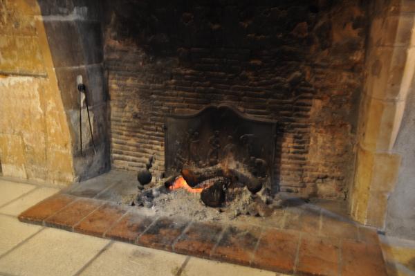 Château de Chissay大廳暖爐