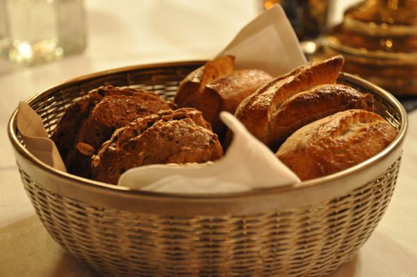 Château de Chissay晚餐:麵包
