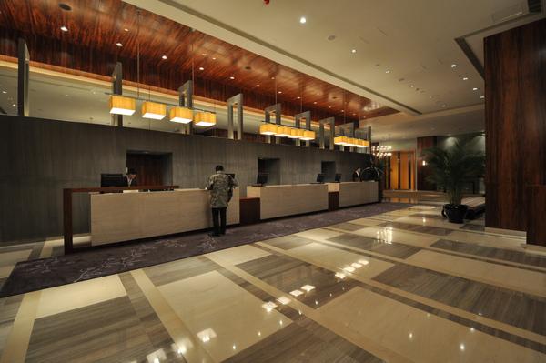 Hyatt Regency-lobby