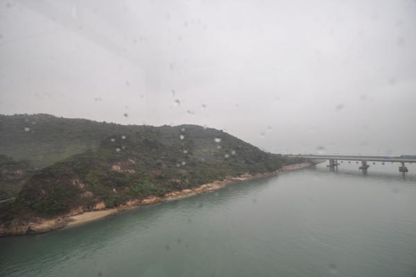 東涌-纜車上風景