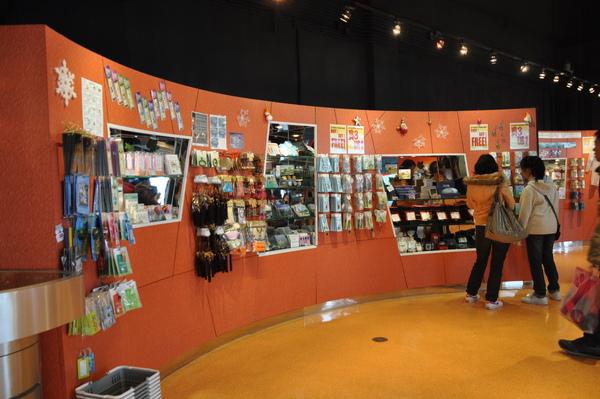昂平-纜車紀念品販售處