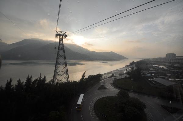 昂平-纜車上風景