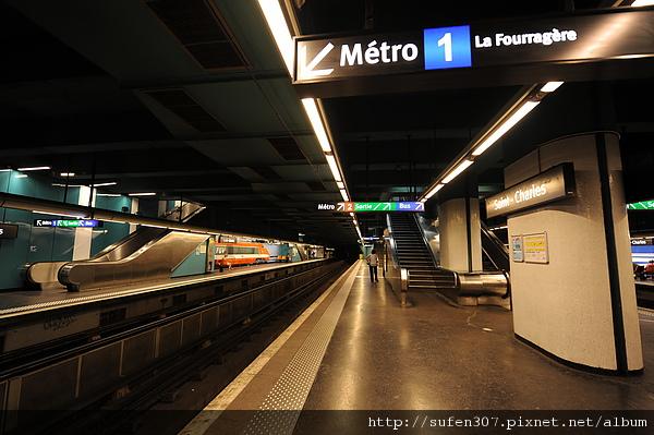 馬賽地鐵站 Saint-Charles