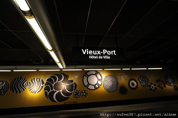 地鐵 Vieux-Port