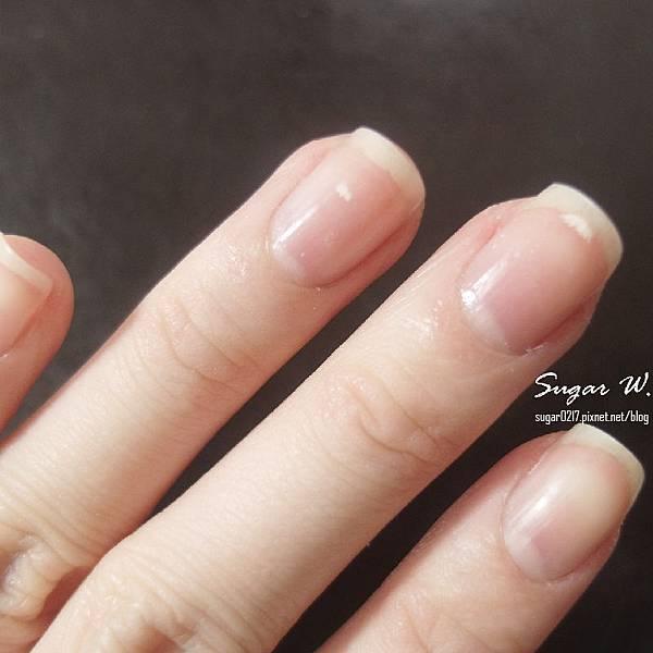 保養過的指甲看起來果然不一樣!!