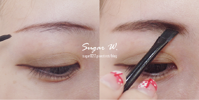 STARSUKI~三色眉粉~眉毛畫法