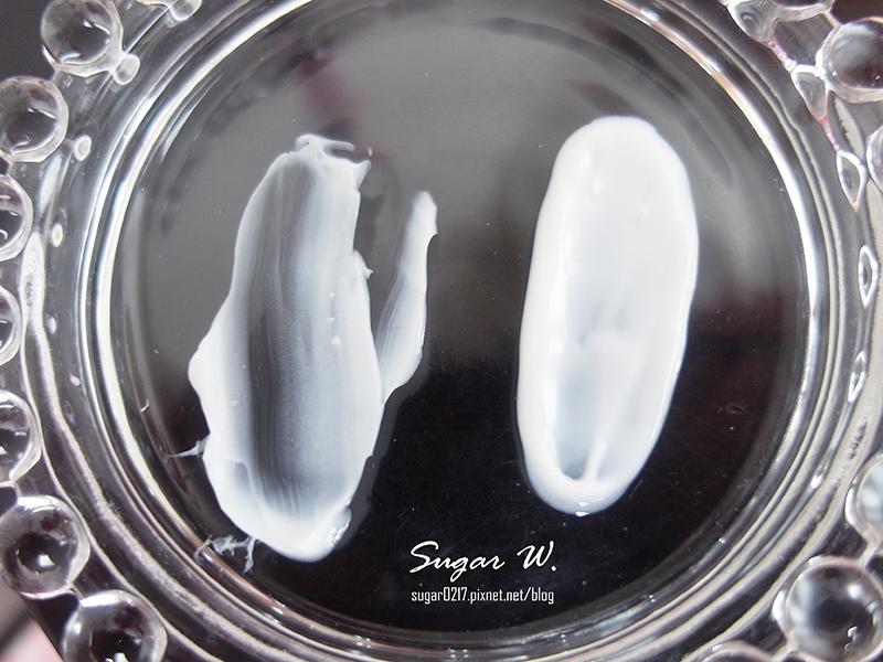 (左)揮手霜 (右)嫩白霜
