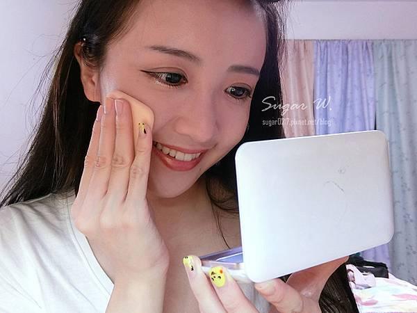MissHana 花娜小姐 金屬氣墊粉餅 金屬粉餅 玫瑰金 鋼琴鏡面