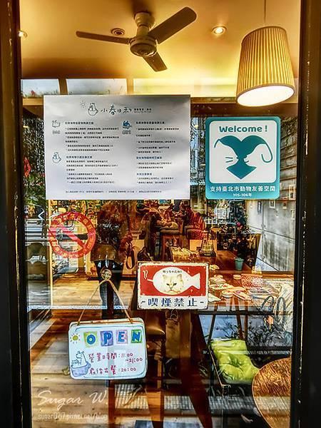 小春日和 寵物餐廳 動物雜貨 寵物 毛小孩 珈琲 食記 貓 狗