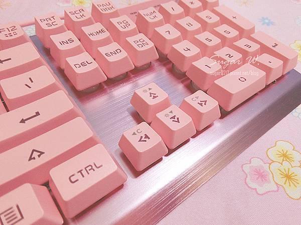 3C 鍵盤 機械式鍵盤 青軸 電競鍵盤 粉紅色 白色 背光 RGB i-Rocks K62E 1STPLAYER FireRose 火玫瑰