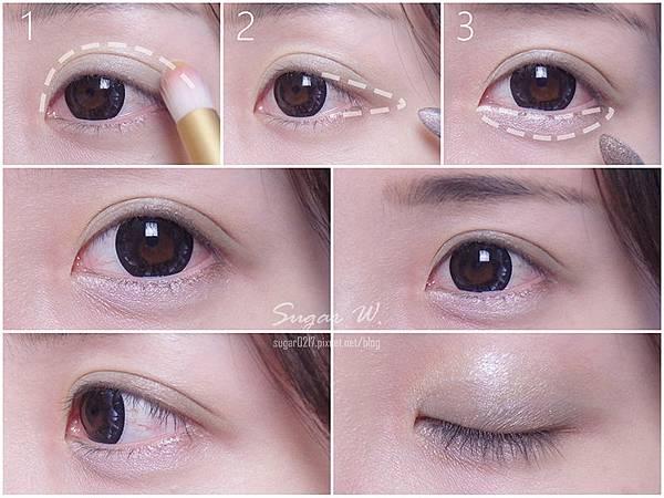 彩妝 彩妝教學 Pantone 2017 草木綠 代表色 清新 淡綠色 眼影