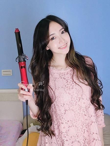 misstic 自動公主棒 電棒 電捲棒 電棒捲 捲髮 燙捲 自動捲髮 離子夾 夾直 不求人