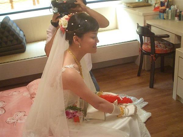 感動的新娘