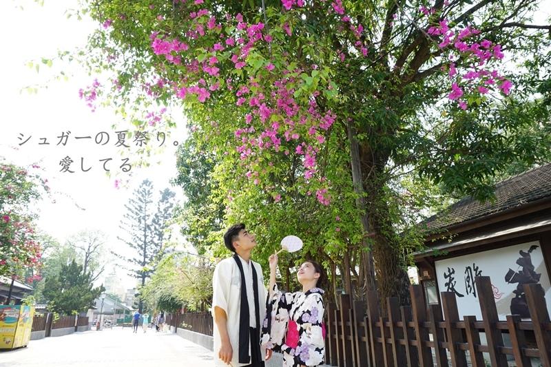 旅行.嘉義 | 霞光寶物珍藏村化身一日櫻花妹。宛如置身日本的嘉義檜意森活村 Hinoki Village