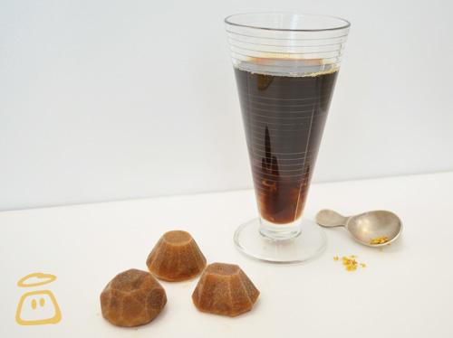 黑煻桂花冰咖啡