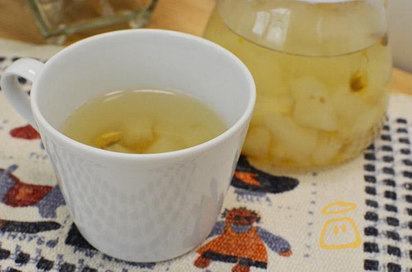 雪梨菊花蜜茶